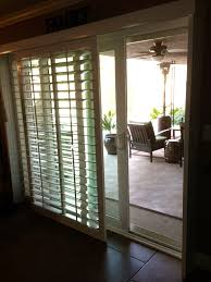 plantation shutter for sliding glass door shutters patio doors
