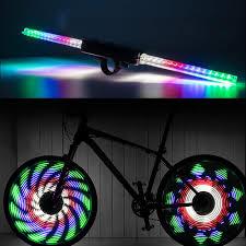 Best Bike Wheel Lights Led Bike Wheel Light Qangel Bicycle Spoke Light Ipx5 Waterproof 64pcs Led Lights Display Bright 30 Patterns Safety Cycling Tire Light Full Wheel