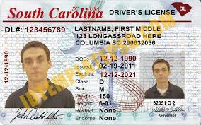 State Drivers Carol… On This Can Is South License Template photoshop usa Template Usa Driver Novelty Pu… You Psd Carolina