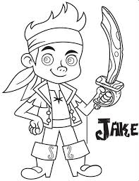 coloring pages jake and the neverland pirates colouring pages