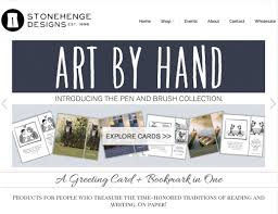 Stonehenge Designs Cards Stonehenge Designs Website Headers And Pinterest Ads Four