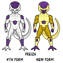 4th form frieza frieza form comparison 4th form vs new form by macro dragon on