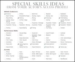 Skill Examples For Resume Resume Ideas Gorgeous Skills On Resume