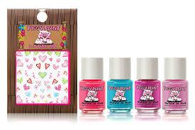 Amazon.com : Piggy Paint - 100% Non-toxic Girls Nail Polish, Safe ...