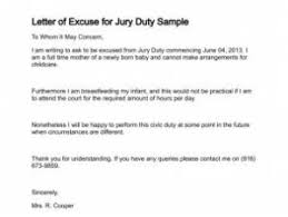 Jury Duty Excuse Ideas