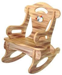 childs wooden rocking chair regarding kids pads chairs decor 13