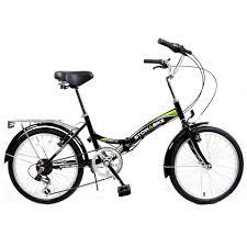 Stowabike 20 folding city v2 pact foldable bike 6 speed shimano gears