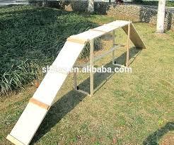 dog pool ladder big dog climbing ladder wooden pet walk ramp training product on dog