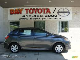 2010 Toyota Matrix S AWD in Magnetic Gray Metallic - 016806 ...