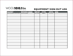 Equipment Checkout Form Template Excel Inventory Check Out Sheet Template In Tool Checkout Form