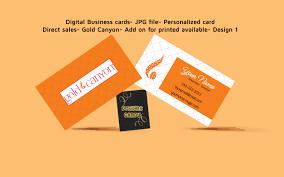 Sales Business Cards Business Card Digital File Direct Sales Business Marketing Golden Canyon Business Card Printable Diy Custom Digital Download From Designscandy