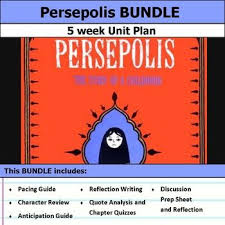 best persepolis images literature teaching  persepolis the story of a childhood unit bundle