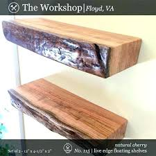 dark cherry wood floating shelf shelves walnut wall modern creative furniture sh cherry wood floating wall shelves