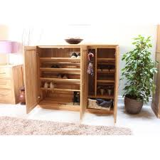 baumhaus mobel solid oak extra. Baumhaus Mobel Solid Oak Extra Large Shoe Cupboard COR20F A