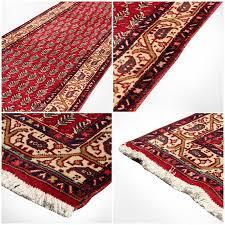 antique classic persian runner rug in tabriz