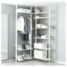 ikea small closet organizers wooden storage rack builder bedroom