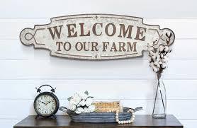 wall decor farmhouse and barnyard decor home and garden decor metal tin galvanized vintage antique weathered