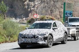 2018 audi electric car. brilliant electric audi etron spy shot front quarter on 2018 audi electric car