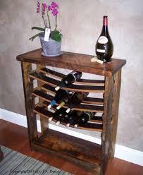 wine barrel wine rack furniture. Reclaimed Wood And Wine Stave Rack Barrel Furniture L