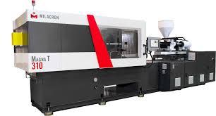 hydraulic milacron magna toggle servo injection molding machine