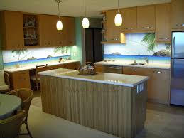 Beach Kitchen Kitchen Design Hawaii Beach Scene Thomas Deir Honolulu Hi Artist
