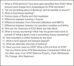 sbi recruitment sbi clerk vacancy notification best banking related questions in ibps interview