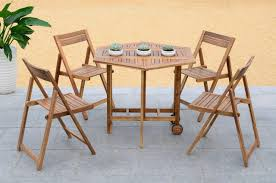 Outdoor Table Chairs Fold