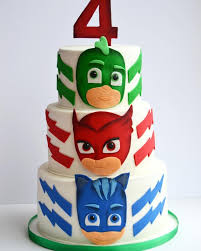 Pj Masks Cake By Seda Molina Delightfulfun Interesting Cakes