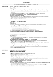 Net Developer Resume Sample NET Applications Developer Resume Samples Velvet Jobs 22