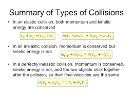 40 elastic collisions a simpler equation can be used in place of the ke equation