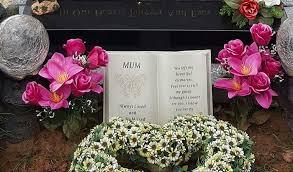 Tish Cliffe - stolen grave ornaments Beryl Hilton - Nantwich News