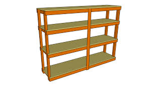 garage shelving plans ideas diy shed storage racks woodshed rack