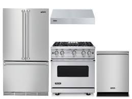 package v6 viking appliance package 4 piece luxury appliance package with gas range free dishwasher stainless steel