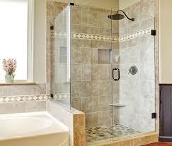 90 degree shower door