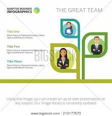 Project Team Structure Chart Tree Chart Three Vector Photo Free Trial Bigstock