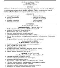 Ideas Collection Sample Cover Letter Janitorial Supervisor Cute