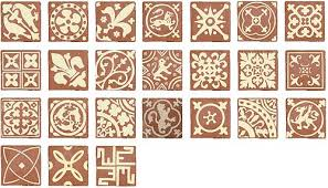 Medieval Patterns Enchanting Medieval Pataki Tiles Handmade Terracotta Tiles For Your Home