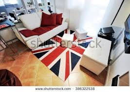 british flag furniture. Typical Student Flat Or Single People With Modern And Clean Decor. Carpet British Flag Furniture
