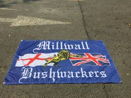 Other Collectable Flags MILLWALL BUSHWACKERS 3 X 5FT FLAG/BANNER F TROOP TREATMENT Collectables sloopy.in