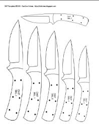 DH7+Template+capture diy knifemaker's info center knife patterns on stage set design template