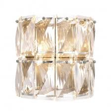 eichholtz wall light e crystal glass