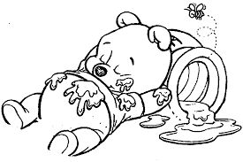 Small Picture Baby Winnie The Pooh Coloring Pages In Glum Me Within zimeonme
