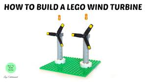 how to build a lego wind turbine in 60 seconds