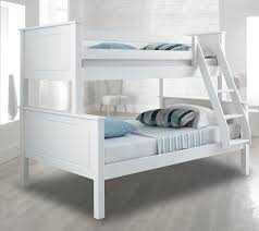 vancouver quality wooden white triple sleeper bunk bed