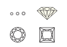 Diamonds Cuts And Clarity The 4cs Carat Color Clarity And Cut Kay
