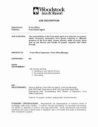 receptionist resume samples best of front desk clerk job description for resume sample job and