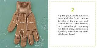 5 turn a glove into a chipmunk