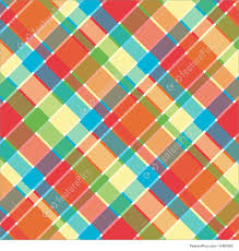 Plaid Pattern Adorable Abstract Patterns Bright Plaid Pattern Stock Illustration