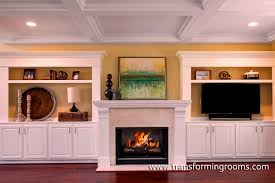 the above client s dream home photos from houzz indicated they preferred a white mantle not a stacked stone fireplace like the builder suggested