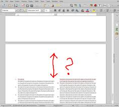 How To Fix Indent Above The Endnotes Ask Libreoffice